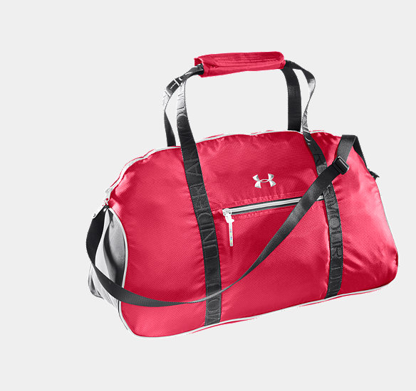 UNDER ARMOUR CHARM CITY GYM DUFFEL HIBISCUS