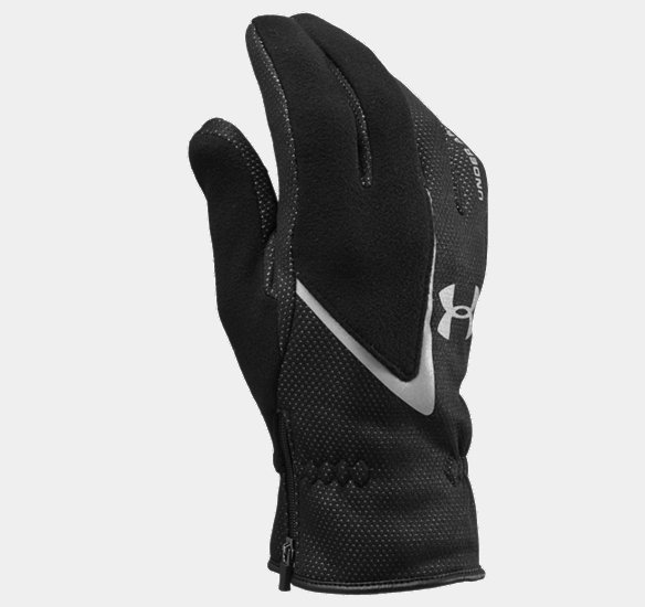 UNDER ARMOUR EXTREME COLDGEAR GLOVES BLACK