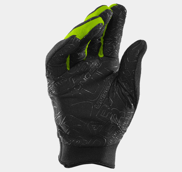 UNDER ARMOUR FLEECE GLOVE BLACK