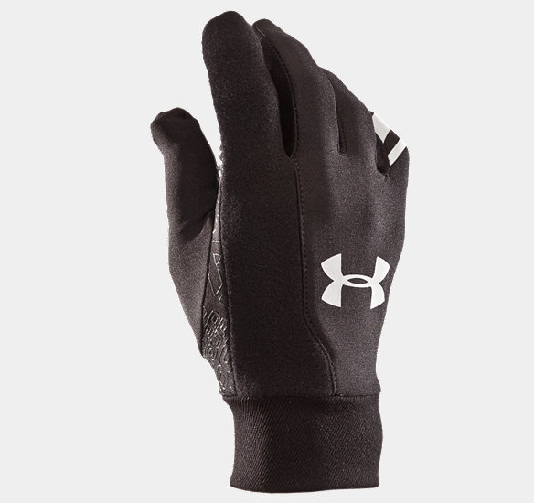 UNDER ARMOUR COLDGEAR LINER GLOVES BLACK
