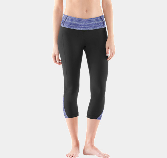 UNDER ARMOUR WOMEN GATHER N' GIVE CAPRI BLACK