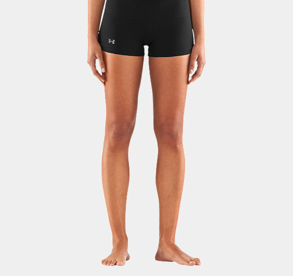 "UNDER ARMOUR WOMEN PERFECT 3"" SHORTY BLACK"