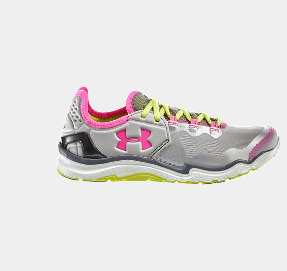 UNDER ARMOUR WOMEN CHARGE RC 2 RUNNING SHOE METALLIC SILVER