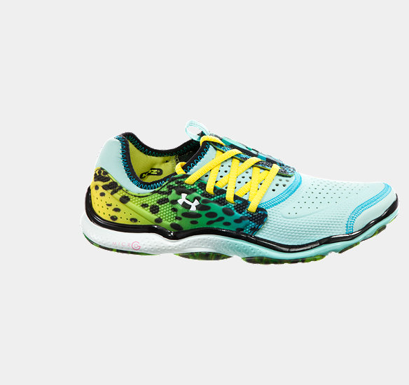 UNDER ARMOUR WOMEN MICRO G TOXIC SIX RUNNING SHOES VENEER