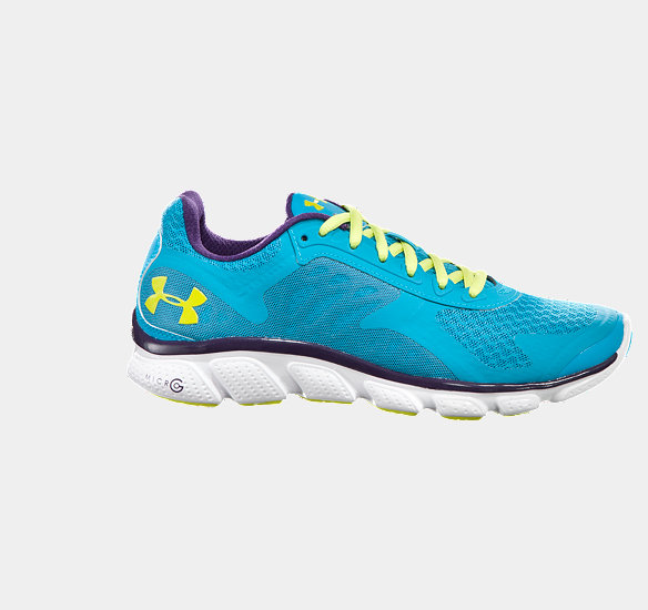 UNDER ARMOUR WOMEN MICROG SKULPT RUNNING SHOE DECEIT