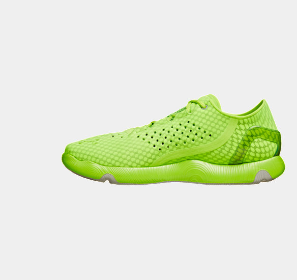 UNDER ARMOUR SPEEDFORM RUNNING SHOES HYPER GREEN