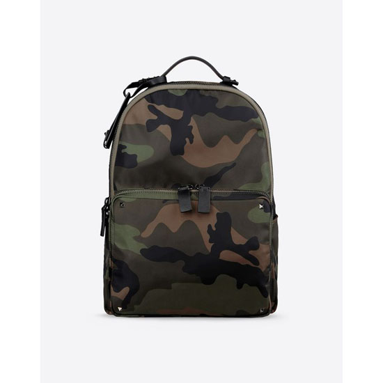 VALENTINO CAMOUFLAGE BACKPACK IN NYLON HYR00340-ANY802 Y20