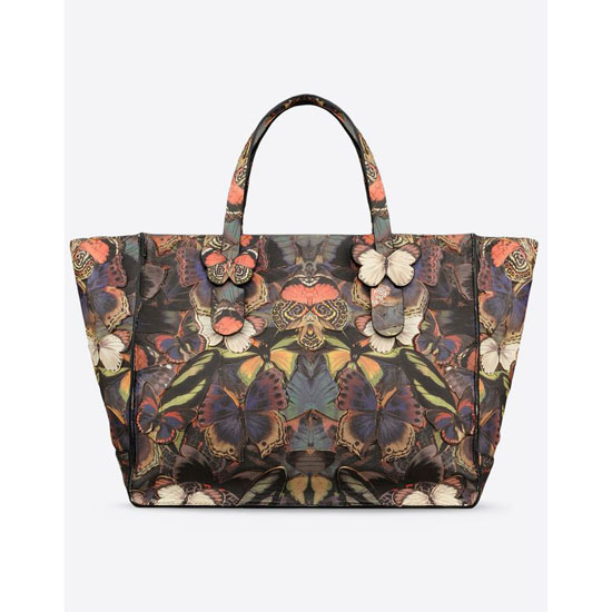 VALENTINO CAMUBUTTERFLY TOTE HWB00819-ACBW01 0AC