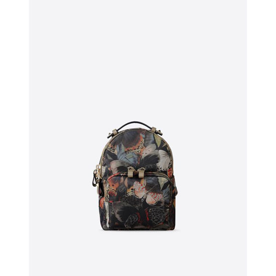 VALENTINO CAMUBUTTERFLY SMALL BACKPACK IW2B0859NCU-Y20
