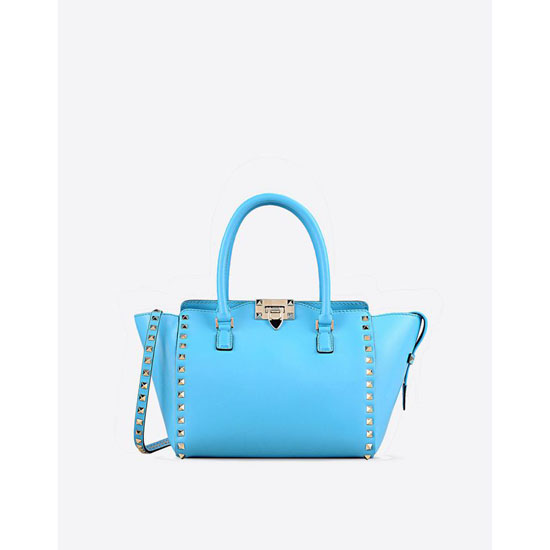 VALENTINO ROCKSTUD SMALL DOUBLE HANDLE BAG IW2B0540BOL O98