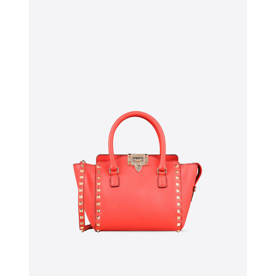 VALENTINO ROCKSTUD MINI DOUBLE HANDLE BAG IW2B0856BOL F28