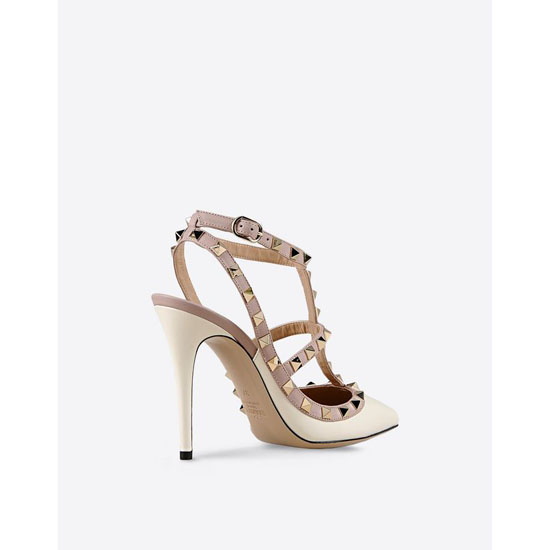 VALENTINO ROCKSTUD ANKLE STRAP IW0S0393VOD L62
