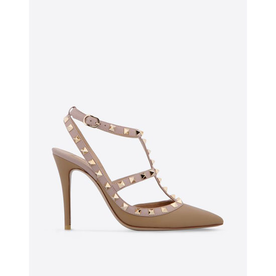VALENTINO ROCKSTUD ANKLE STRAP IW2S0393VOD P30