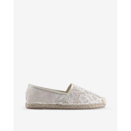 VALENTINO LACE ESPADRILLES IW2S0958PCYA75