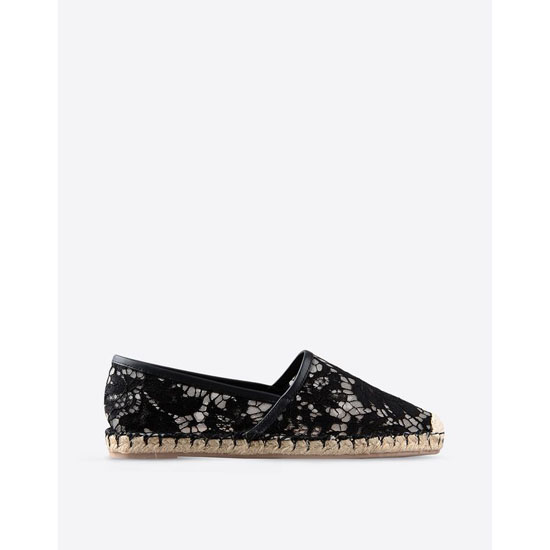 VALENTINO LACE ESPADRILLES IW2S0958LC70NO