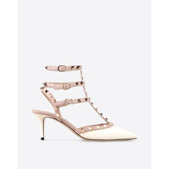 VALENTINO ROCKSTUD ANKLE STRAP IW0S0375VOD L62