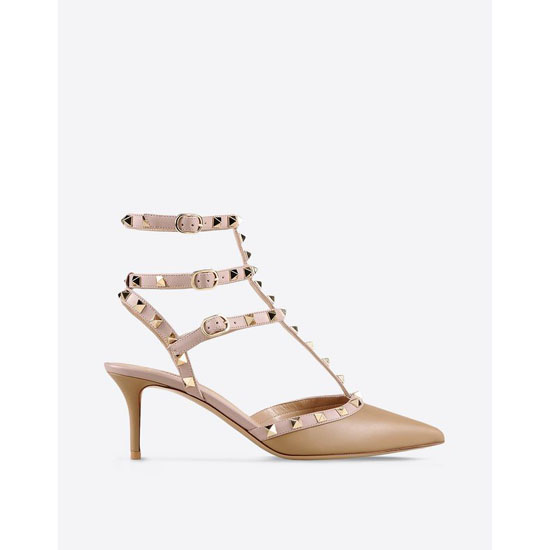 VALENTINO ROCKSTUD ANKLE STRAP IW2S0375VOD P30
