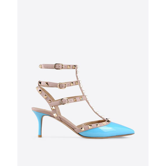 VALENTINO ROCKSTUD ANKLE STRAP IW2S0375VNW P26