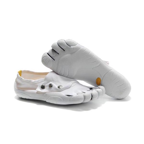 Vibram Five Fingers Button men shoes White