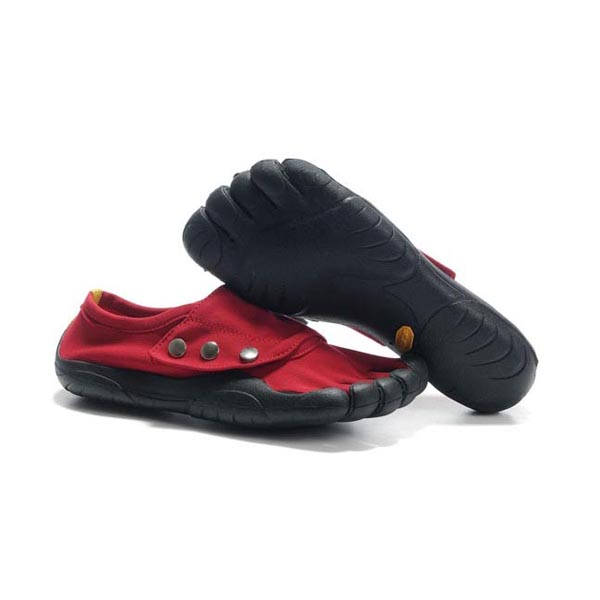 Vibram Five Fingers Button men shoes Red