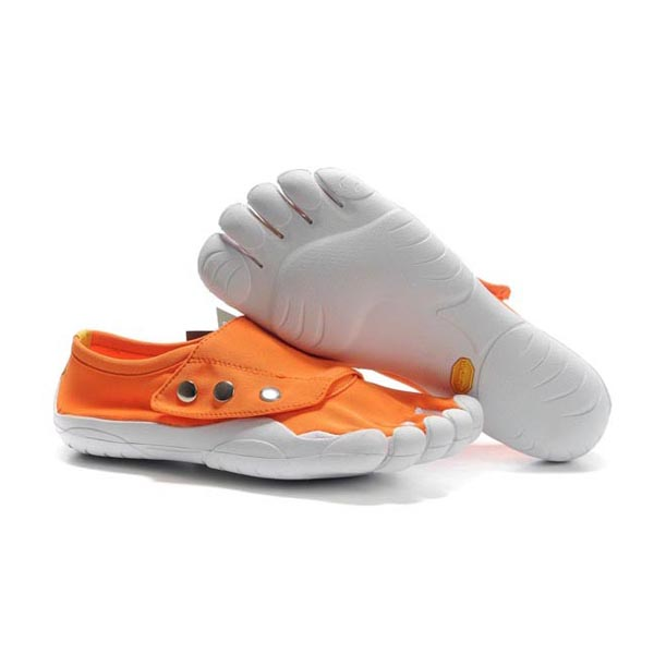 Vibram Five Fingers Button men shoes Orange