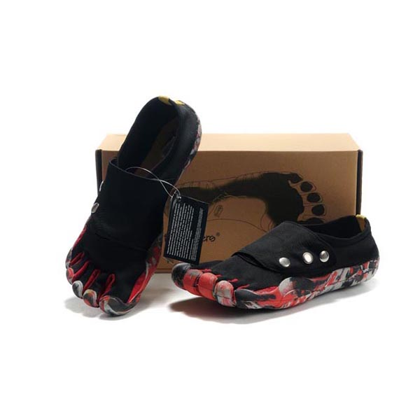 Vibram Five Fingers Button men shoes Black