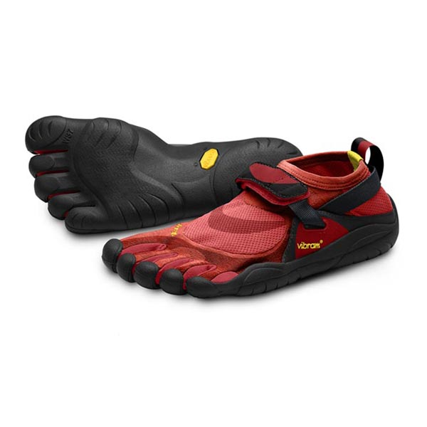 Vibram Five Fingers Men KSO Remix Red / Black Remix