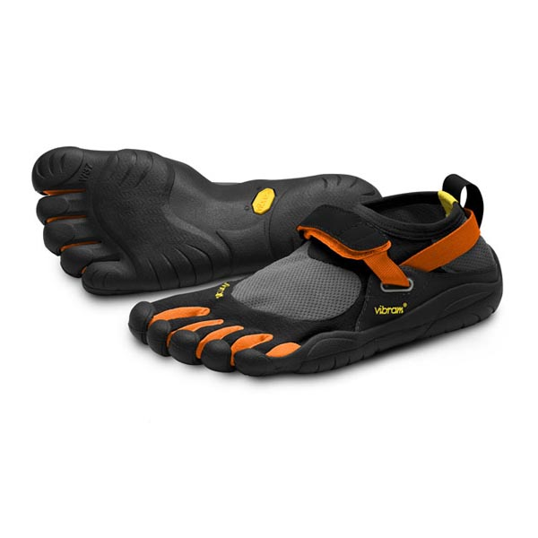 Vibram Five Fingers Men KSO Black / Orange / Black