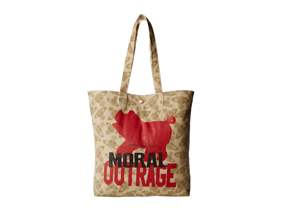 Vivienne Westwood Africa Moral Outrage Tote