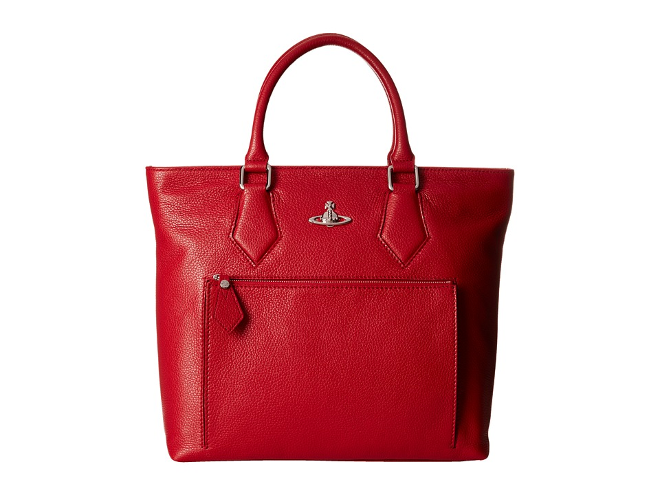 Vivienne Westwood Leather Shopper Bag