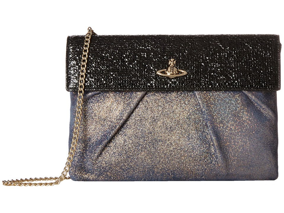 Vivienne Westwood Metallic Chain Strap Evening Bag