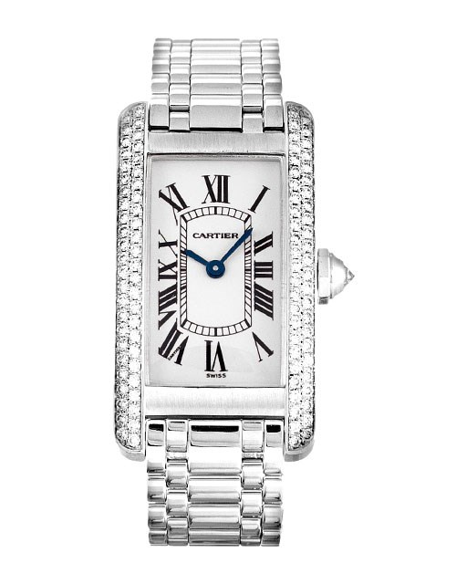 CARTIER TANK AMERICAINE WB7018L1