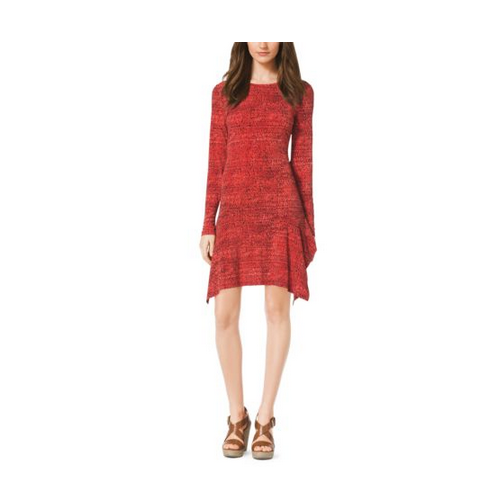 MICHAEL MICHAEL KORS Printed Jersey Dress GRENADINE