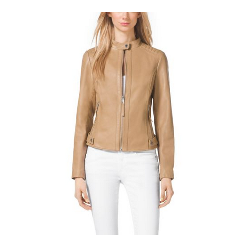 MICHAEL MICHAEL KORS Leather Jacket MANILA