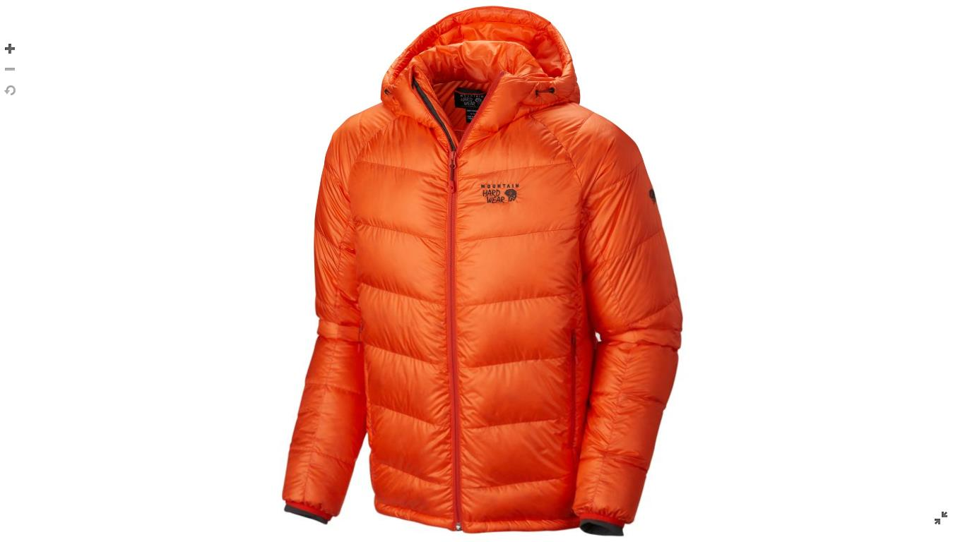 Mountain Hardwear Mens Phantom™ Hooded Down Jacket State Orange