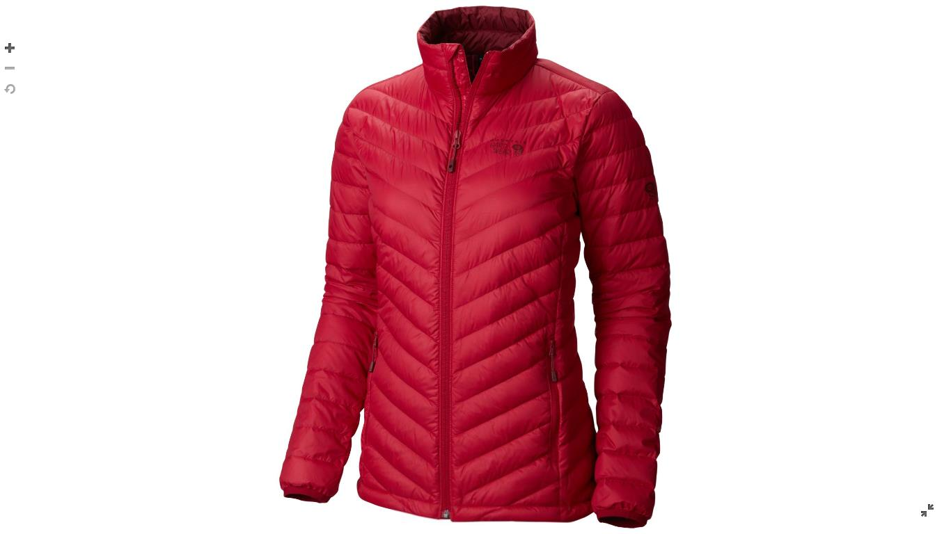 Mountain Hardwear Womens Micro Ratio™ Down Jacket Pomegranate
