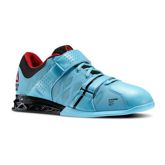 REEBOK MEN'S CROSSFIT REEBOK CROSSFIT LIFTER PLUS 2.0 Neon Blue / Black / Red Rush