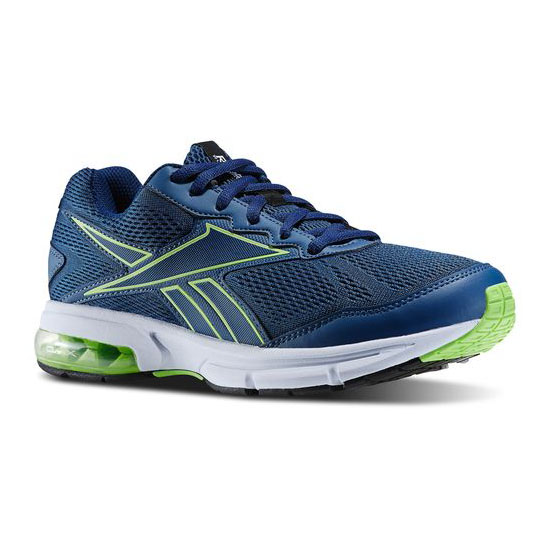 REEBOK WOMEN'S RUNNING FUSERIDE RUN Batik Blue / Solar Green / White / Black