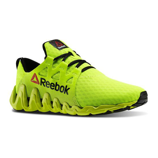 REEBOK WOMEN'S RUNNING ZIGTECH BIG & FAST Solar Yellow / Black