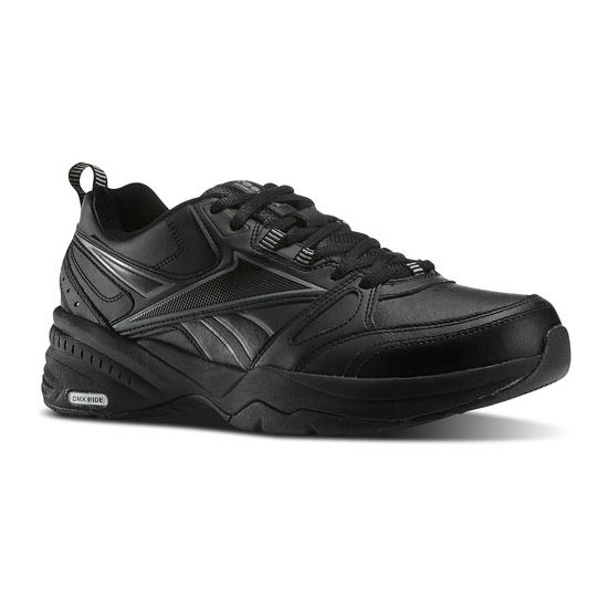 REEBOK MEN'S WALKING REEBOK ROYAL TRAINER 4E Black / Flat Grey