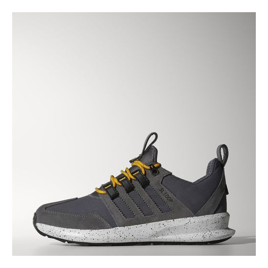 Men's Adidas Originals SL Loop Runner Trail Shoes Granite / Sharp Grey / Collegiate Gold