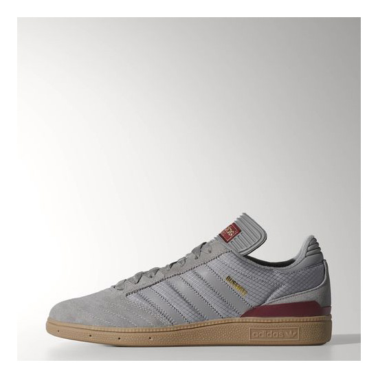 Men's Adidas Originals Busenitz Shoes Charcoal Solid Grey / Charcoal Solid Grey / Cardinal