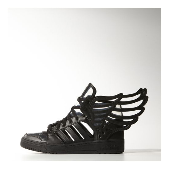 Men's Adidas Originals Wings 2.0 Cutout Shoes Core Black