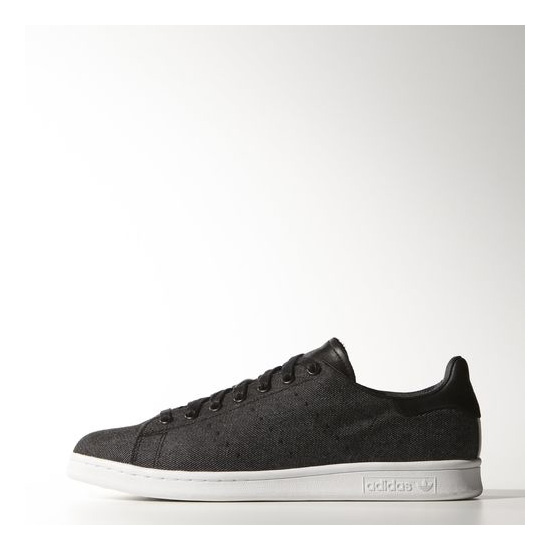 Men's Adidas Originals Stan Smith Shoes Core Black