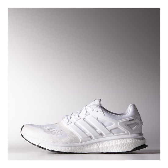 Men's Adidas Running Energy Boost ESM Shoes Running White Ftw