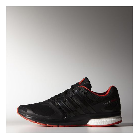 Men's Adidas Running Questar Boost Shoes Core Black