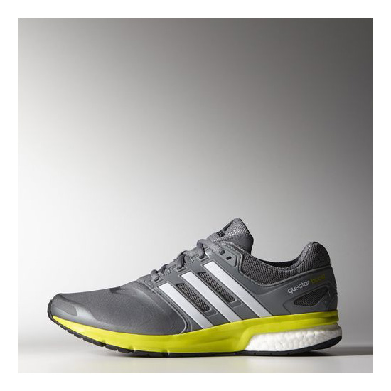 Men\'s Adidas Running Questar Boost Shoes Vista Grey