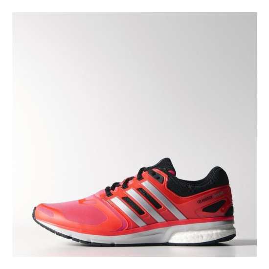 Men's Adidas Running Questar Elite Shoes Solar Red / Black / Light Grey
