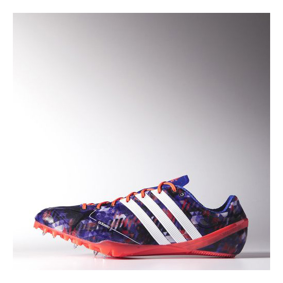 Men's Adidas Running Adizero Prime Accelerator Spikes Night Flash / Running White / Infrared