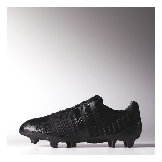 Men's Adidas Soccer Nitrocharge 1 Black Pack Cleats Core Black